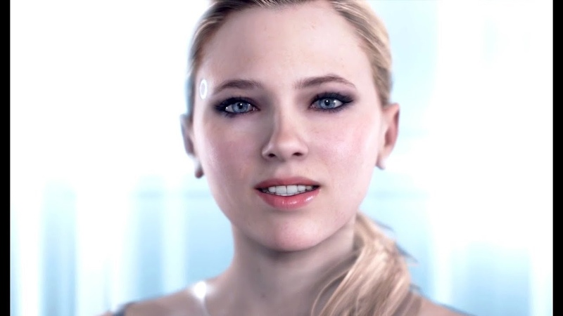 DETROIT BECOME HUMAN - CHLOEs All Main Menu Quotes Dialogues (including survey)