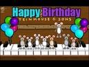 Feliz cumpleaños a ti (ratoncitos tocando el piano) Vídeo completo | Dylan🚀
