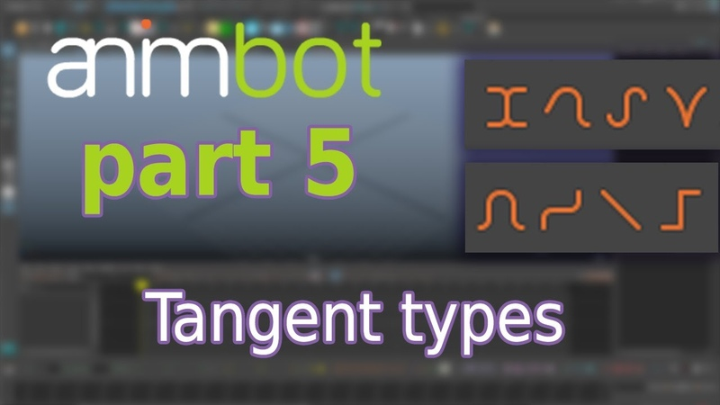 AnimBot tutorial | Tangent types | Part 5
