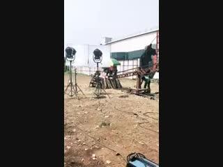 Credit- celebrity Manager Samuel. - Upcoming in Shakti - On shoot . On the set of Shakti - RubinaDilaik - @RubiDilaik