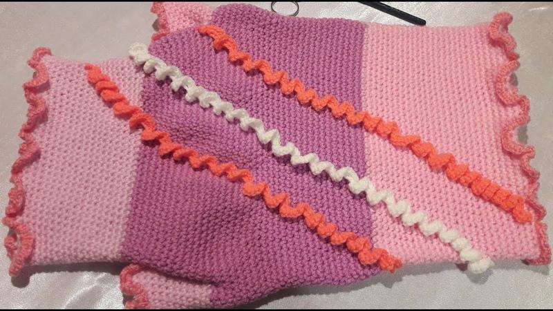Теплый свитер для Ши-тцу - девочки крючком. 3 часть. МК. Авторская работа.