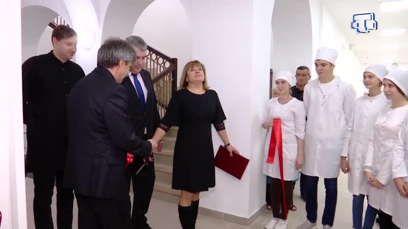 Симферопольский медицинский колледж после долгой реконструкции открыл двери для студентов
