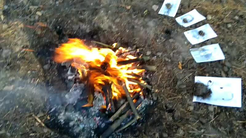 Ритуальная чистка Умывание огнем mp4