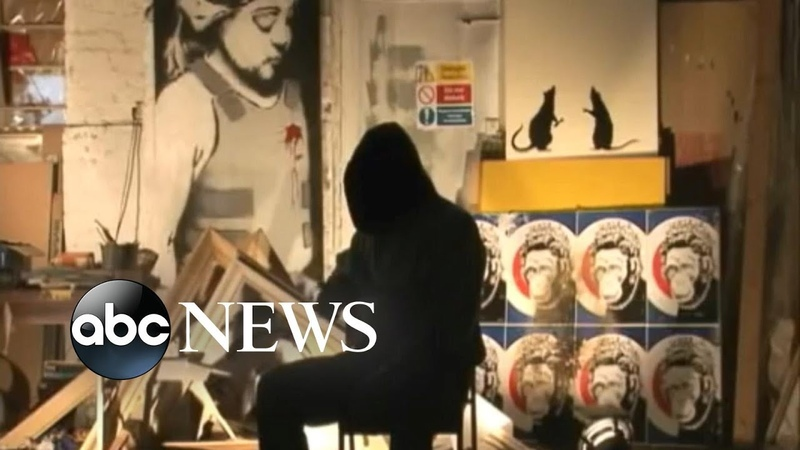 Banksy reveals how he shredded a work of art after it was sold at auction