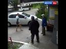 Жестокое избиение пожилых мужчин в Челябинске попало на видео