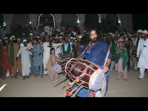 Sufi Dhamal Beets By Nasir international(ReD Rose) World Famous SUfi Dhol Player From Pakistan