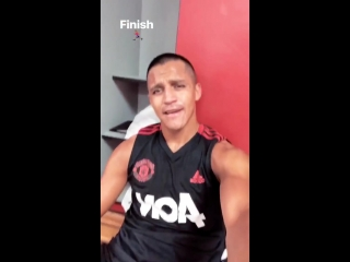 Alexis finished his training
