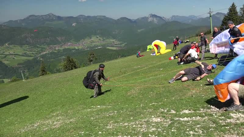 Funny Takeoff Fail - Win Compilation Paragliding Testival 2017 Kössen outtakes bloopers [4k]