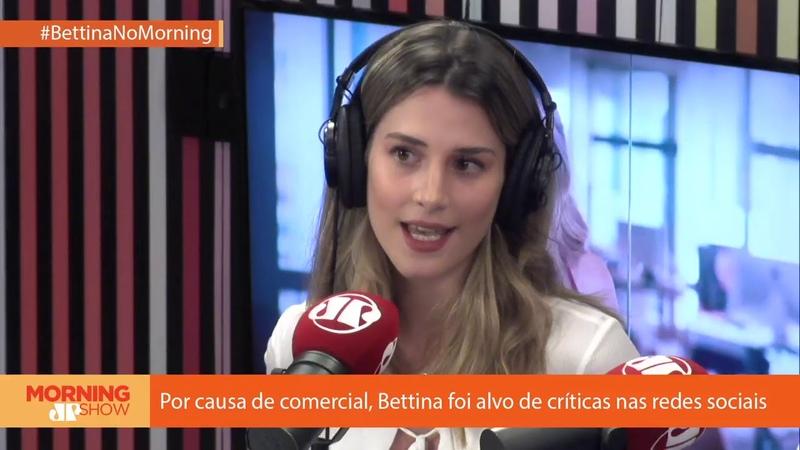 Exclusivo 1: A milionária mais famosa do momento, Bettina, é entrevistada no Morning