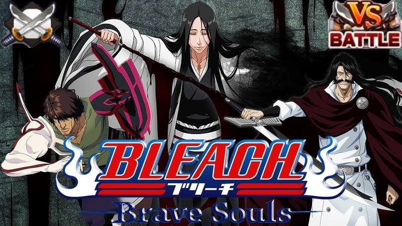 BRAVE BATTLES Yhwach Unohana Chad Captain's League Bleach Brave Souls 519