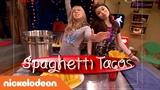 Tiny Kitchen Ft. iCarly Spaghetti Tacos!