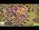 Clash of Clans AVTOLIST 257 kv атака хогами