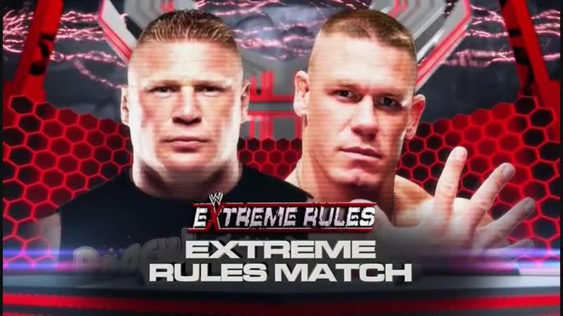 Wrestling Online - John Cena vs Brock Lesnar - Extreme Rules 2012 (Стрим 49)