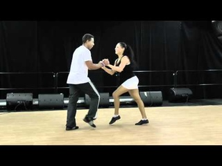 Croatian Summer Salsa festival 2012 - Workshop - Mario Charon -Rueda de Casino Show Style