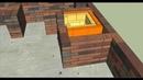 Проект летней кухни с мангалом