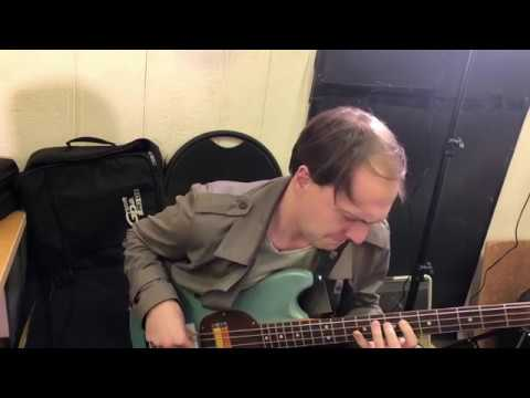 Socrates' Trial - Nick Campbell Bass Solo All The Little Things (Rehearsal) 3/26/18