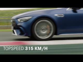 Технические характеристики Mercedes-AMG 4-дверного купе!