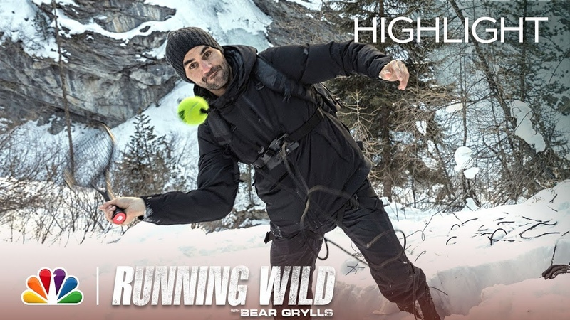 Not Your Typical Tennis Serve - Running Wild with Bear Grylls (Episode Highlight)