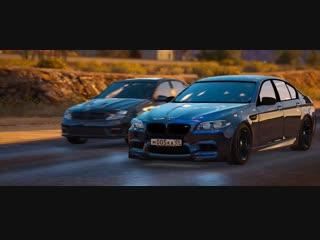 BMW ///M5 F10, Mercedes-Benz C6.3 ///AMG