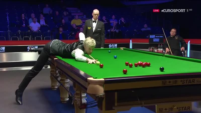 Neil Robertson 147 MAXIMUM Vs Jordan Brown - Welsh Open 2019