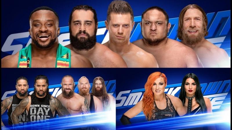 WWE Smackdown 19.06.2018 в HD от Кенникса
