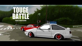 Touge Battle. Teaser. (Анимация)