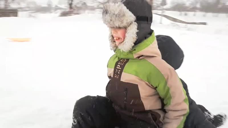 Зимние покатушки (Старая Вичуга - Февраль 2018)