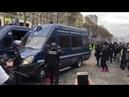 Gilets Jaunes Acte 18 : Les gendarmes attaqué par des casseurs à Paris