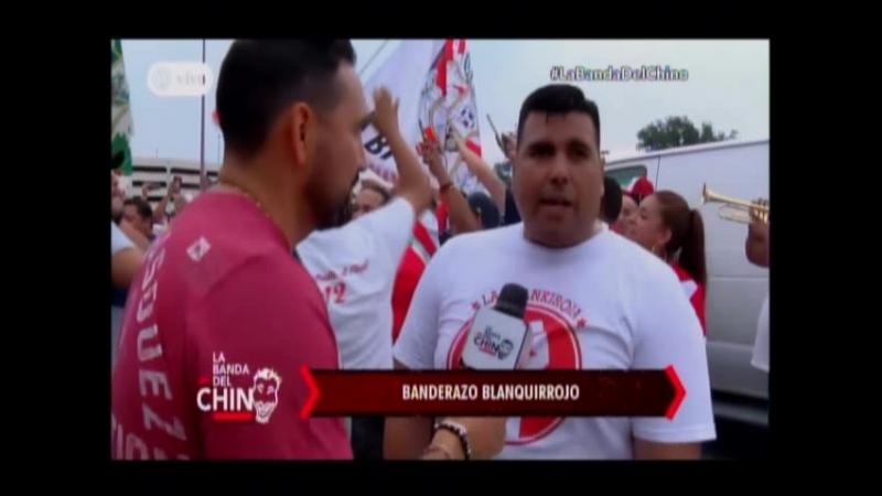 Nota - Banderazo Blanquirrojo
