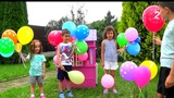 Learn Colors for Kids Children Toddlers - Learning Colors with Balloons - Learn Videos - Part 1