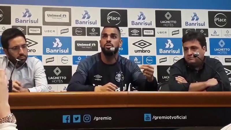 Grêmio Capitão Maicon, responde as declarações de Rodrigo Dourado
