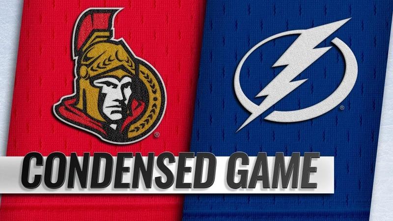 11/10/18 Condensed Game: Senators @ Lightning