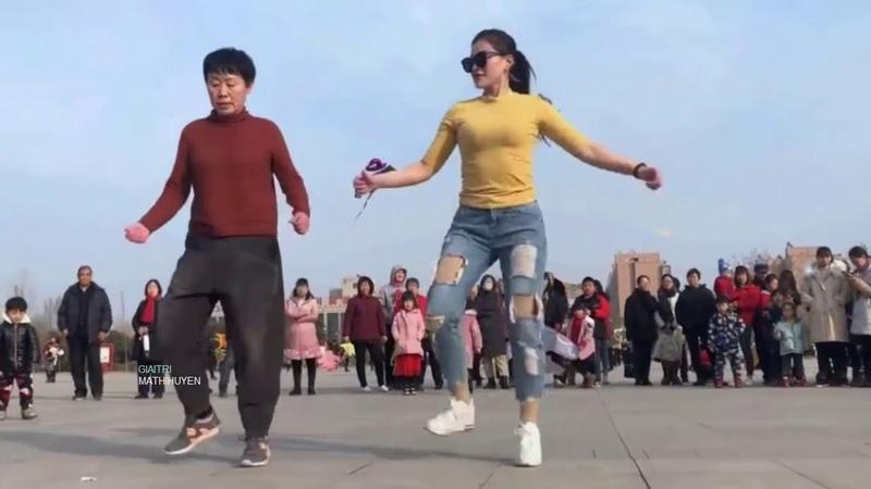 Hiểu Khánh vũ đạo Shuffle dance âm nhạc DJ mây nhẹ che trăng