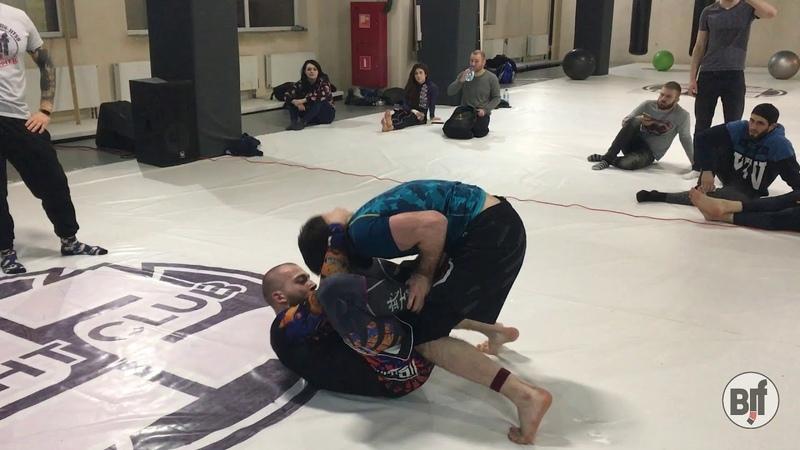 АМАДЗИЕВ vs ЗЕЛТЫНЬ-АБРАМОВ NO GI TRIAL superfight bjf_trial