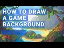 How to Draw a Game Background