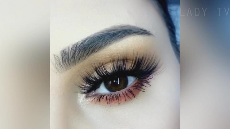 Красивый и естественный вечерний макияж глаз