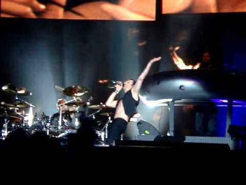 Depeche Mode I Feel You Touring the Angel Live in Sofia 21 06 2006