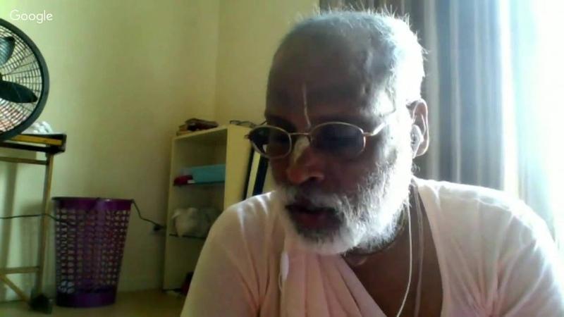 Шри Шримад БВ Вана Махарадж - Чида-дахи Махотсава. Рагхунатха Дас Госвами. Суринам, 19.06.2016