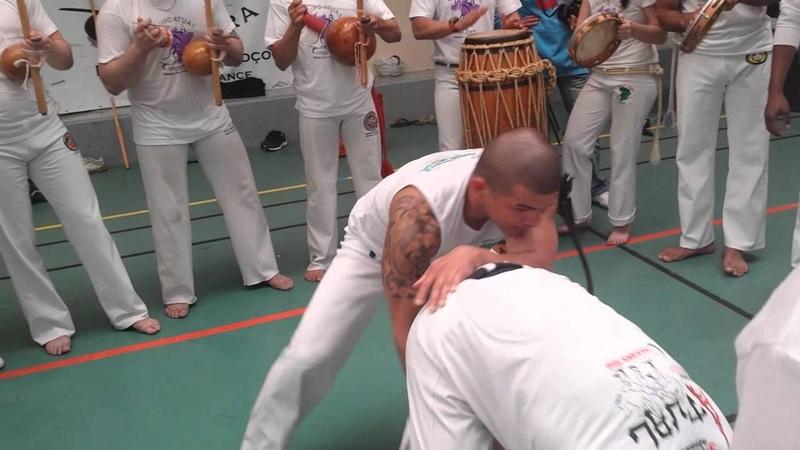 Mestre Curiango e CM Betinho GRUPO ATUAL CAPOEIRA