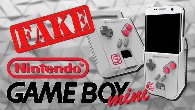 Пиратский Game Boy mini не от Nintendo