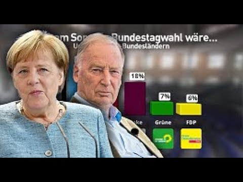 Umfrage-Schock für die Kanzlerin - AfD überholt die CDU erstmals in Ostdeutschland