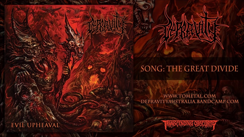Depravity (Australia) - The Great Divide (Death Metal) Transcending Obscurity Records HD