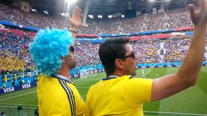 18 Чемпионата мира по футболу в России 2018 год Шведы топят