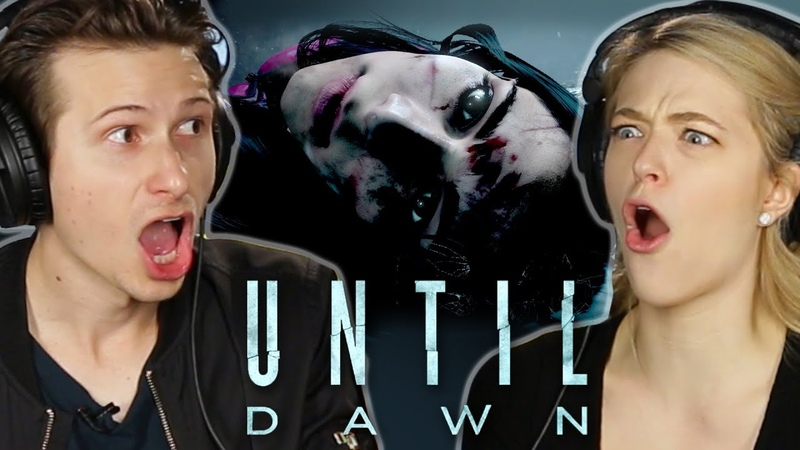 Scared People Try To Survive Until Dawn