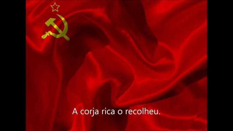 Hino a Internacional Comunista em Português