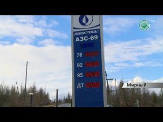 Стоимость бензина и дизельного топлива растёт