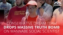 Conservative dream team drops massive truth bomb on wannabe social scientist