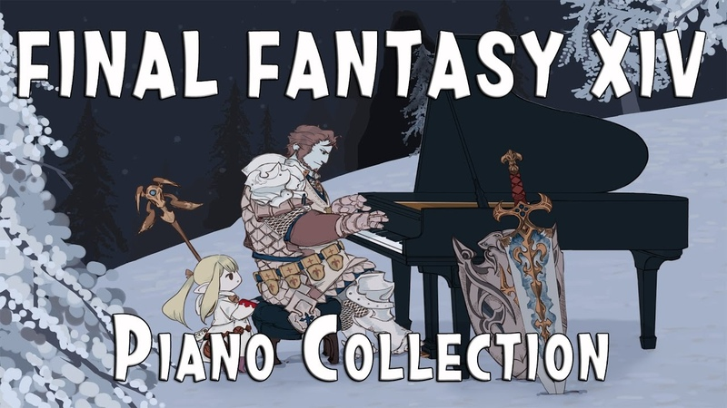 FINAL FANTASY XIV PIANO COLLECTION Volume 1 (Arr.by TerryD) 파판14 피아노 콜렉션1