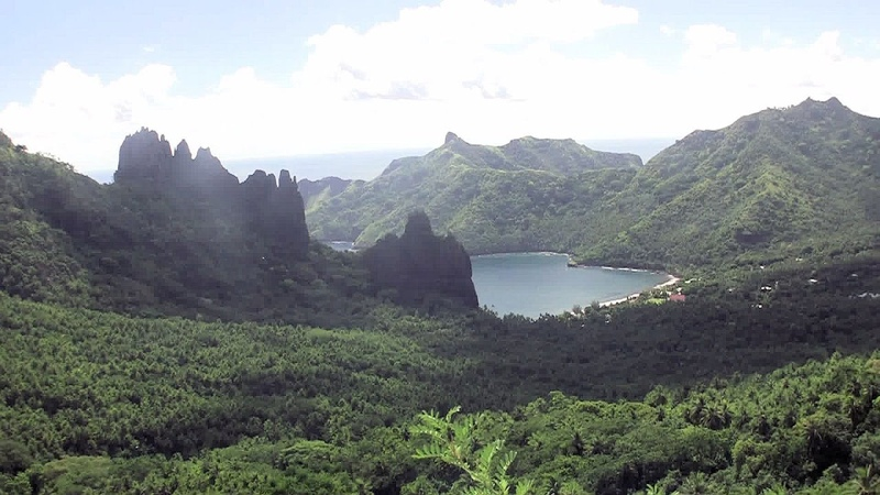 49. Flying back to the Marquesas: Nuku Hiva