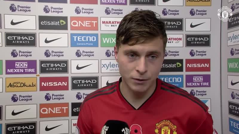 Herrera Lindelof Reflect on Derby Defeat - Manchester City 3-1 Manchester United
